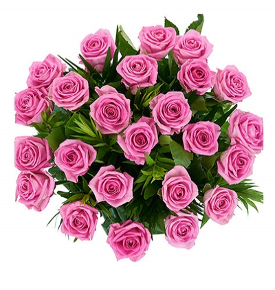 19 kırmızı gül buketi 33 pink roses bouquet