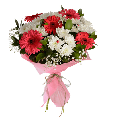 flower delivery turkey Bouquet with Gerbera