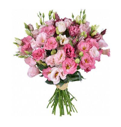 Çiçek Pembe Lisyantus Buketi